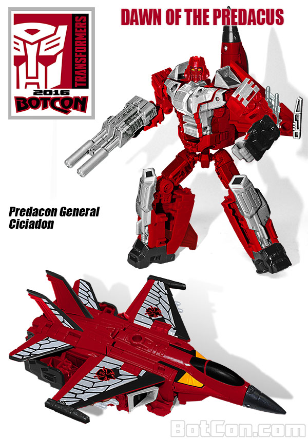 Jouets Transformers exclusifs: Collectors Club | TFSS - TF Subscription Service - Page 10 Botcon-2016-Cicadacon