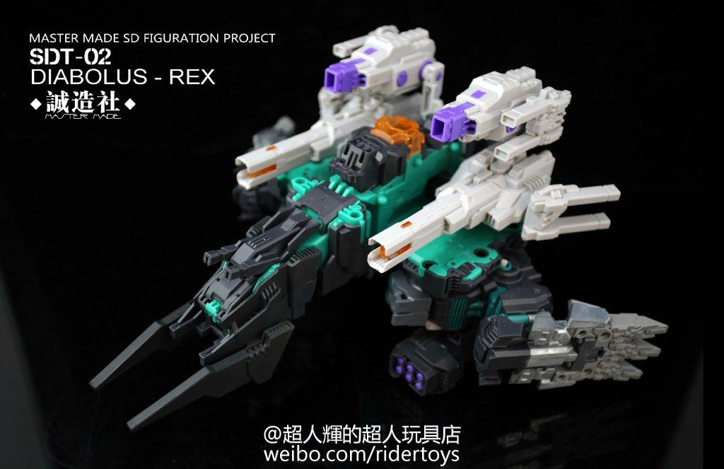 Produit Tiers - Figurine miniature déformé (transformable) - Par: Hero Hobby + MiniPower + Master Made Diabolus-Rex-05