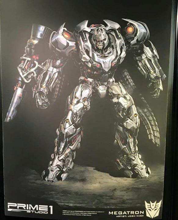 Statues des Films Transformers (articulé, non transformable) ― Par Prime1Studio, M3 Studio, Concept Zone, Super Fans Group, Soap Studio, Soldier Story Toys, etc - Page 3 Prime-1-Megatron-1