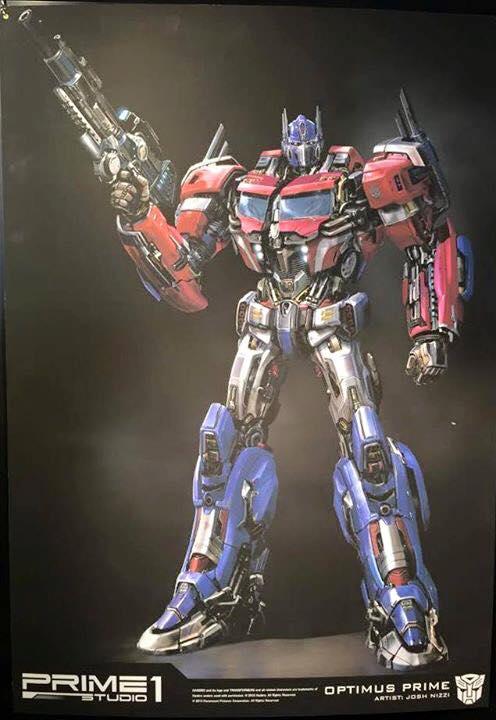 Statues des Films Transformers (articulé, non transformable) ― Par Prime1Studio, M3 Studio, Concept Zone, Super Fans Group, Soap Studio, Soldier Story Toys, etc - Page 3 Prime-1-Optimus-1