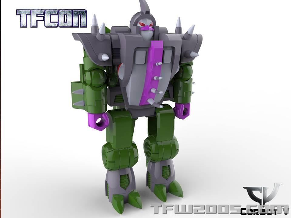 Produit Tiers: [Corbot V] CV-002 Mugger - aka Allicon   [Unique Toys] G-02 Sharky - aka Sharkticon/Requanicon TFCon-USA-2015-050