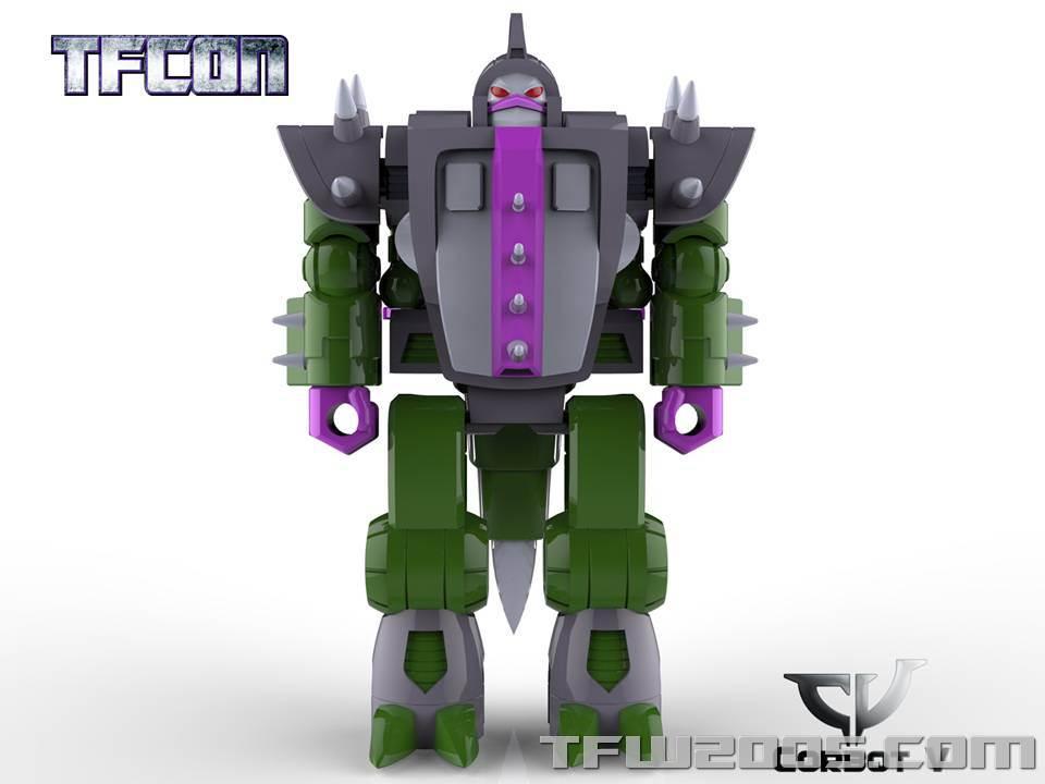 Produit Tiers: [Corbot V] CV-002 Mugger - aka Allicon   [Unique Toys] G-02 Sharky - aka Sharkticon/Requanicon TFCon-USA-2015-051