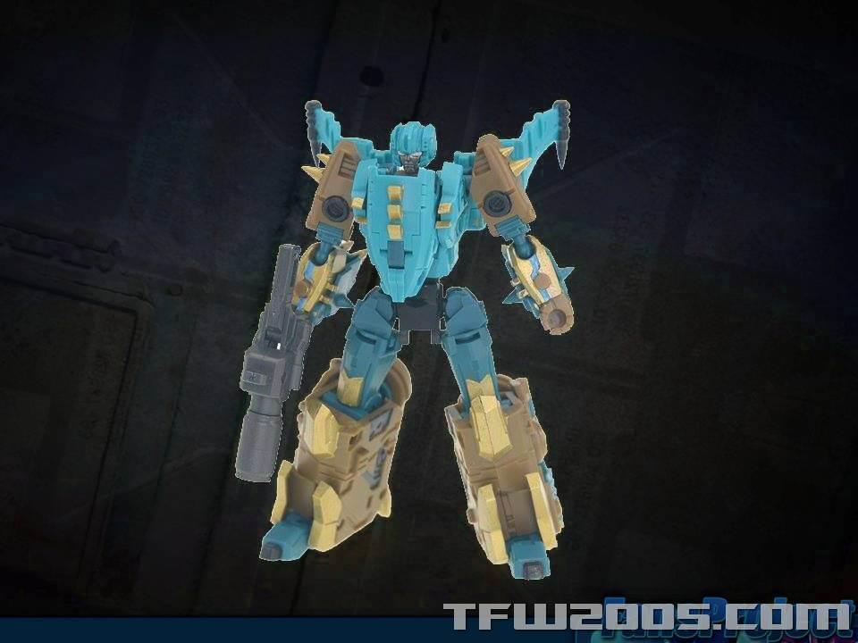 [FansProject] Produit Tiers - Jouet Saurus Ryu-oh aka Dinoking (Victory) | Monstructor (USA) TFCon-USA-2015-554