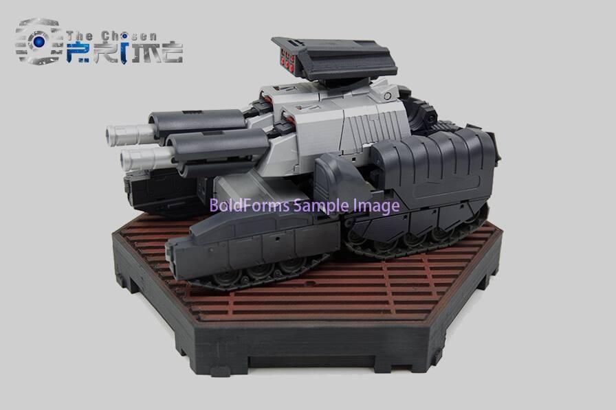 [Bold Forms] Produit Tiers - BF-01 Gladius (aka Mégatron G1) + Lone Wolf (aka Menasor/Menaseur G1) - Page 2 Bold-Forms-Gladius-03