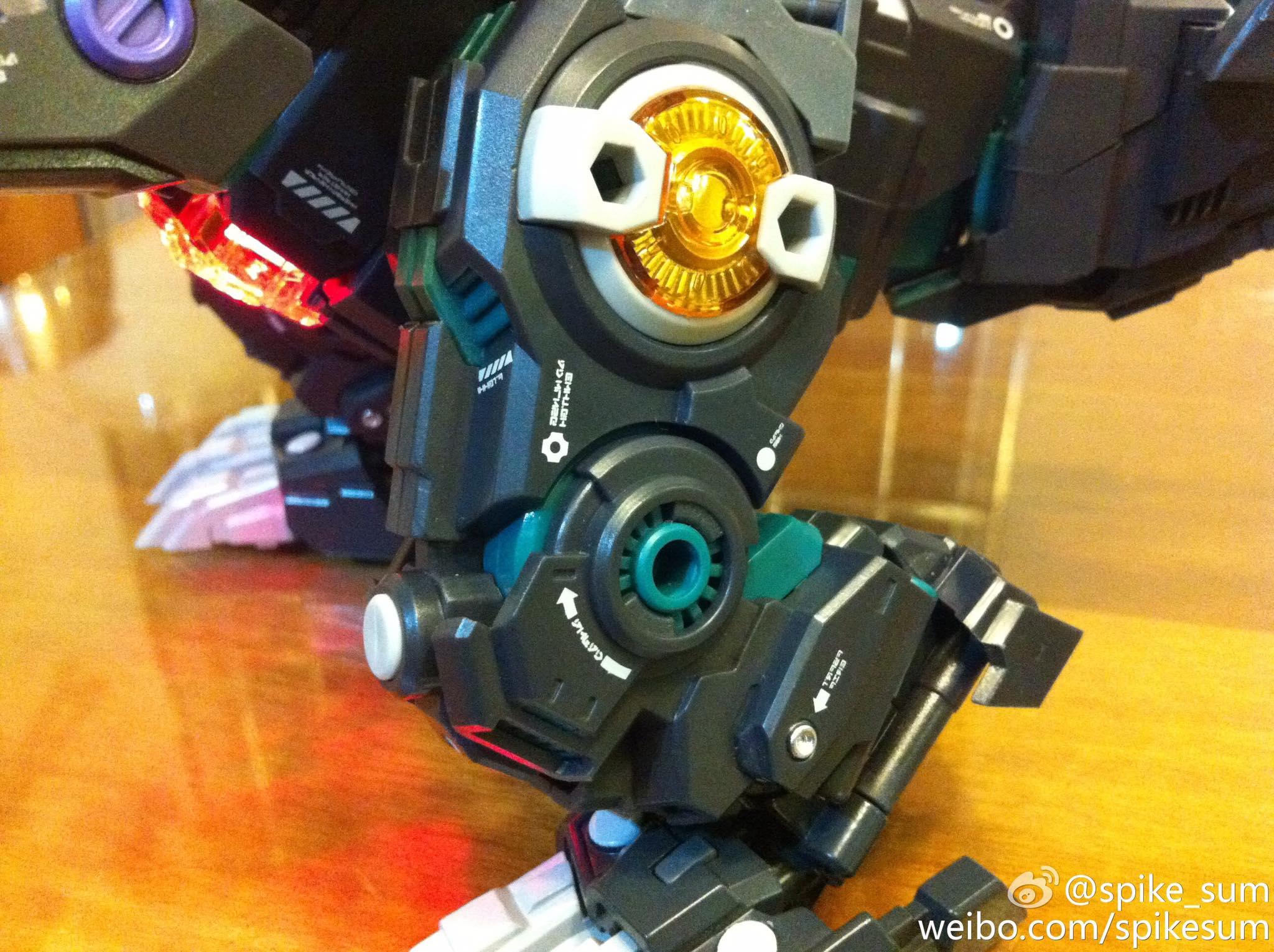 Produit Tiers - Figurine miniature déformé (transformable) - Par: Hero Hobby + MiniPower + Master Made Diabolus-Rex-02