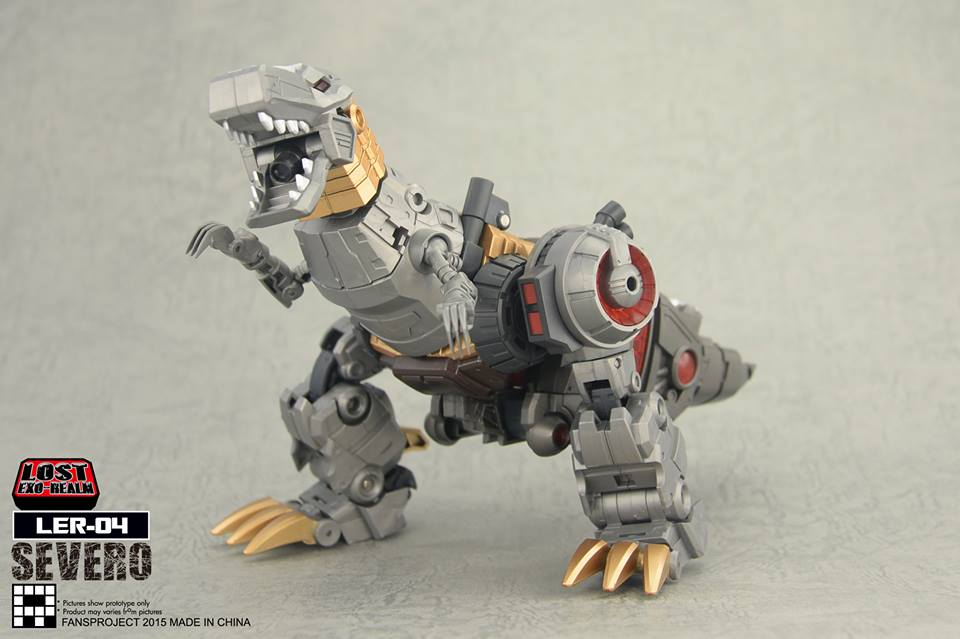 [FansProject] Produit Tiers - Jouets LER (Lost Exo Realm) - aka Dinobots - Page 2 Severo5