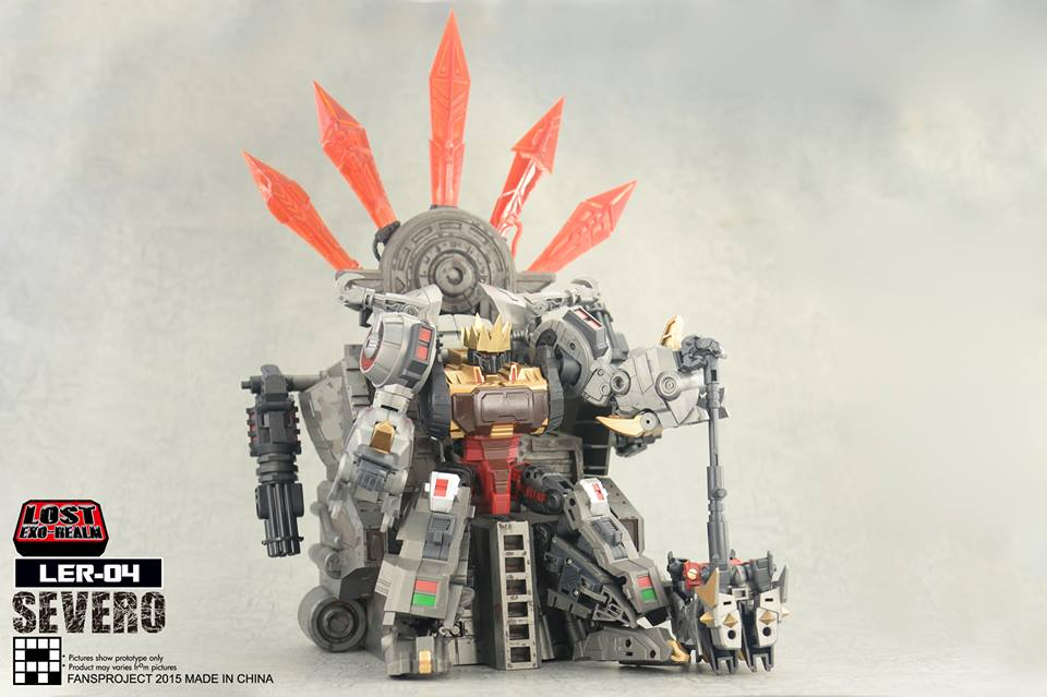 [FansProject] Produit Tiers - Jouets LER (Lost Exo Realm) - aka Dinobots - Page 2 Severo1