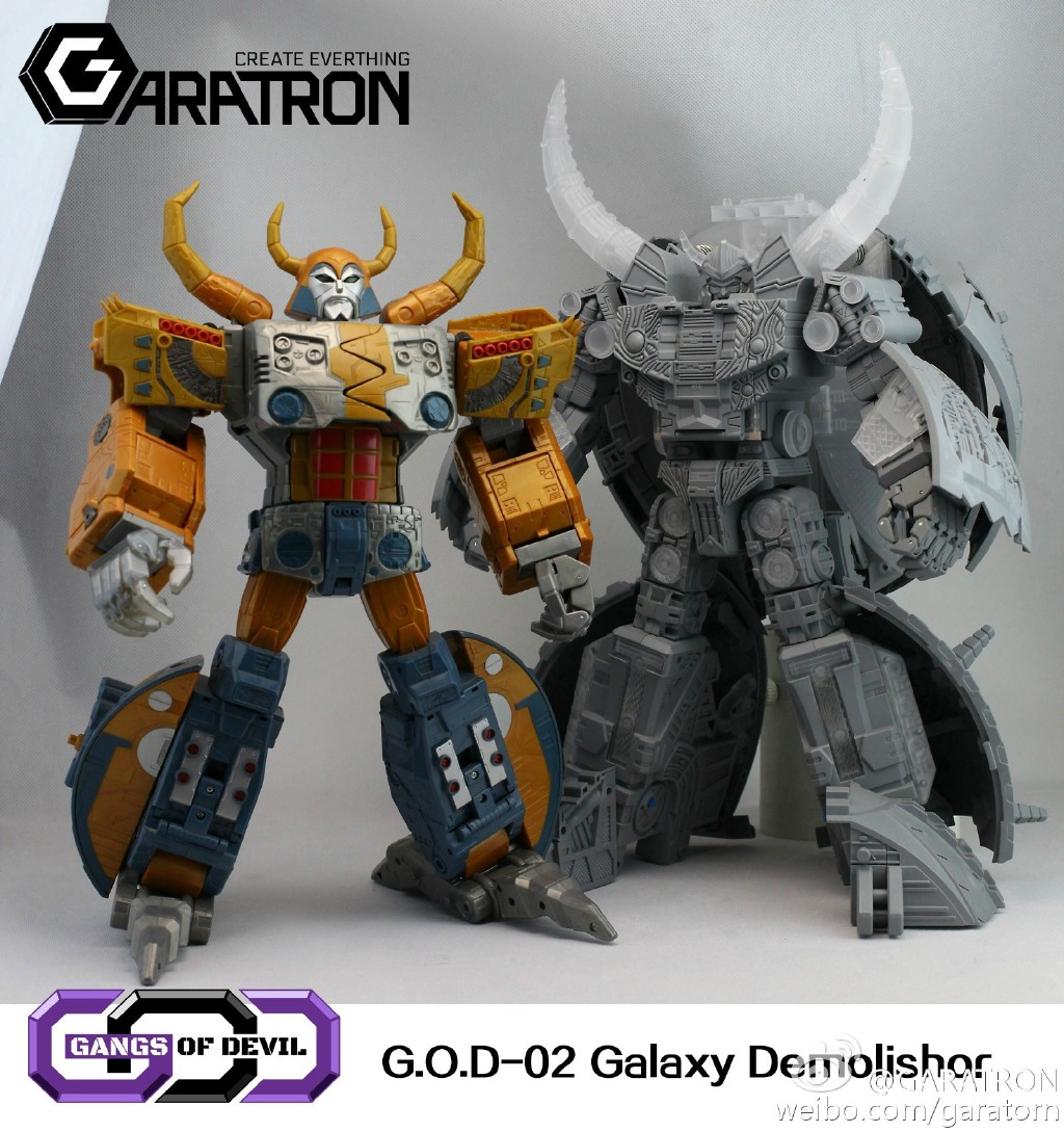 [Garatron] Produit Tiers - Gangs Of Devils G.O.D-02 Galaxy Demolishor - aka Unicron (Beast Wars Neo) Uni10