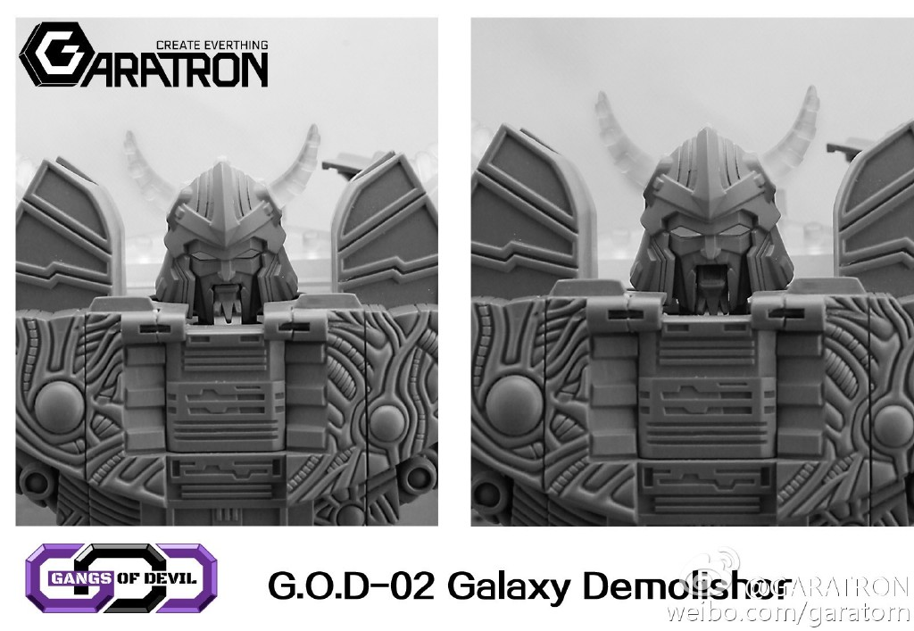 [Garatron] Produit Tiers - Gangs Of Devils G.O.D-02 Galaxy Demolishor - aka Unicron (Beast Wars Neo) Uni12