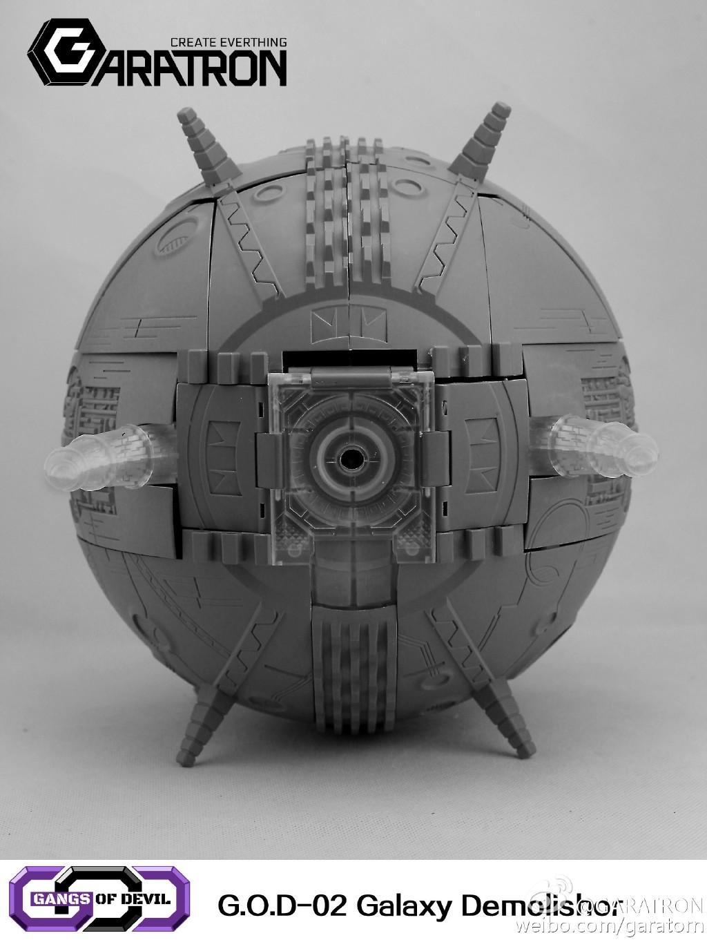 [Garatron] Produit Tiers - Gangs Of Devils G.O.D-02 Galaxy Demolishor - aka Unicron (Beast Wars Neo) Uni15