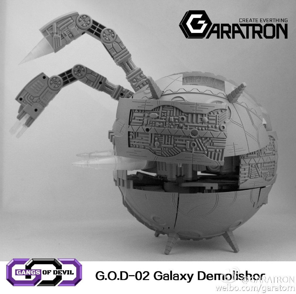 [Garatron] Produit Tiers - Gangs Of Devils G.O.D-02 Galaxy Demolishor - aka Unicron (Beast Wars Neo) Uni16