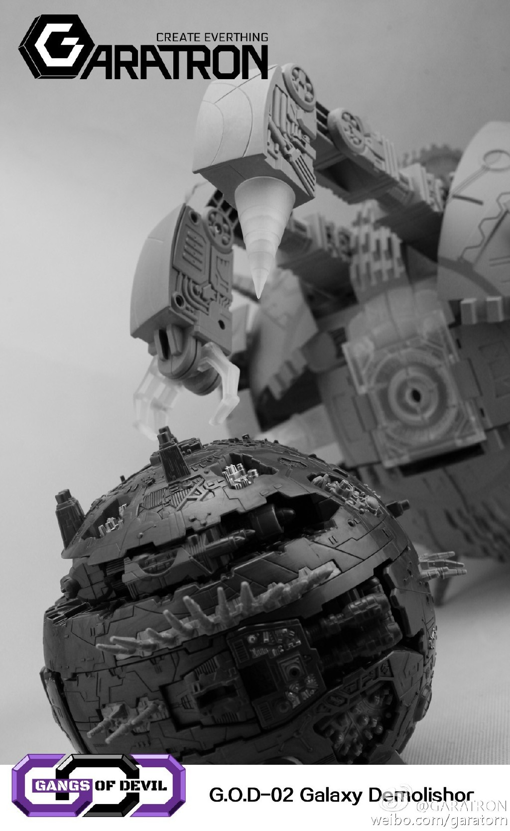 [Garatron] Produit Tiers - Gangs Of Devils G.O.D-02 Galaxy Demolishor - aka Unicron (Beast Wars Neo) Uni17