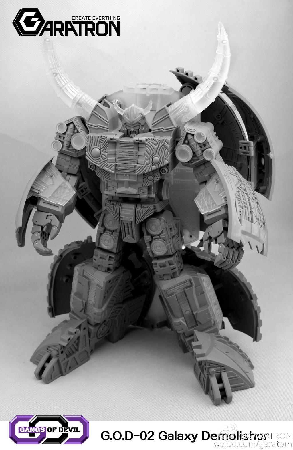 [Garatron] Produit Tiers - Gangs Of Devils G.O.D-02 Galaxy Demolishor - aka Unicron (Beast Wars Neo) Uni8