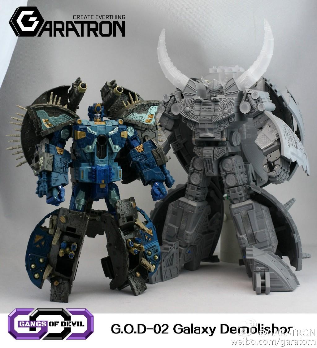 [Garatron] Produit Tiers - Gangs Of Devils G.O.D-02 Galaxy Demolishor - aka Unicron (Beast Wars Neo) Uni9
