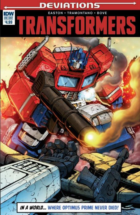 Comics/BD Transformers en anglais: Marvel Comics, Dreamwave Productions et IDW Publishing - Page 32 Deviations-01