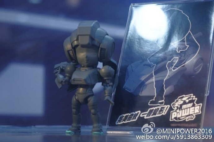 Produit Tiers - Figurine miniature déformé (transformable) - Par: Hero Hobby + MiniPower + Master Made MiniPower-SD-01-Arcee-01
