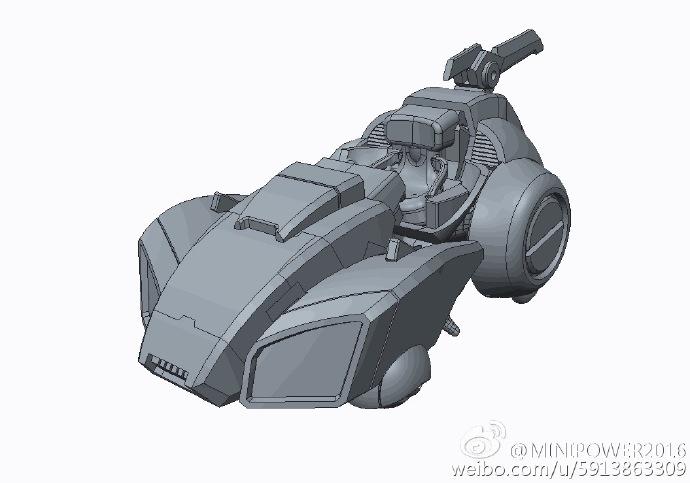 Produit Tiers - Figurine miniature déformé (transformable) - Par: Hero Hobby + MiniPower + Master Made MiniPower-SD-01-Arcee-06