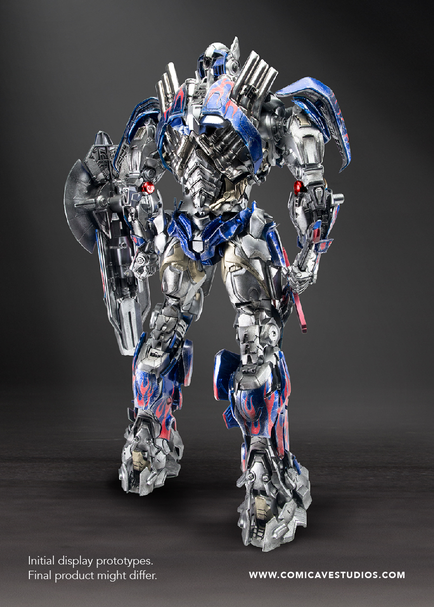 Figurines des Films Transformers ― Par Threezero (3A ThreeA), Comicave Studios, etc OP_3
