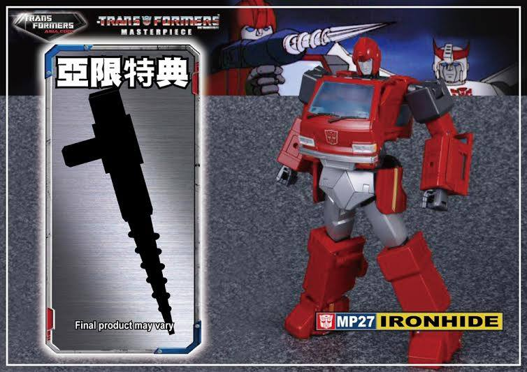 [Masterpiece] MP-27 Ironhide/Rhino - Page 6 Mp-ironhide-reissue-1