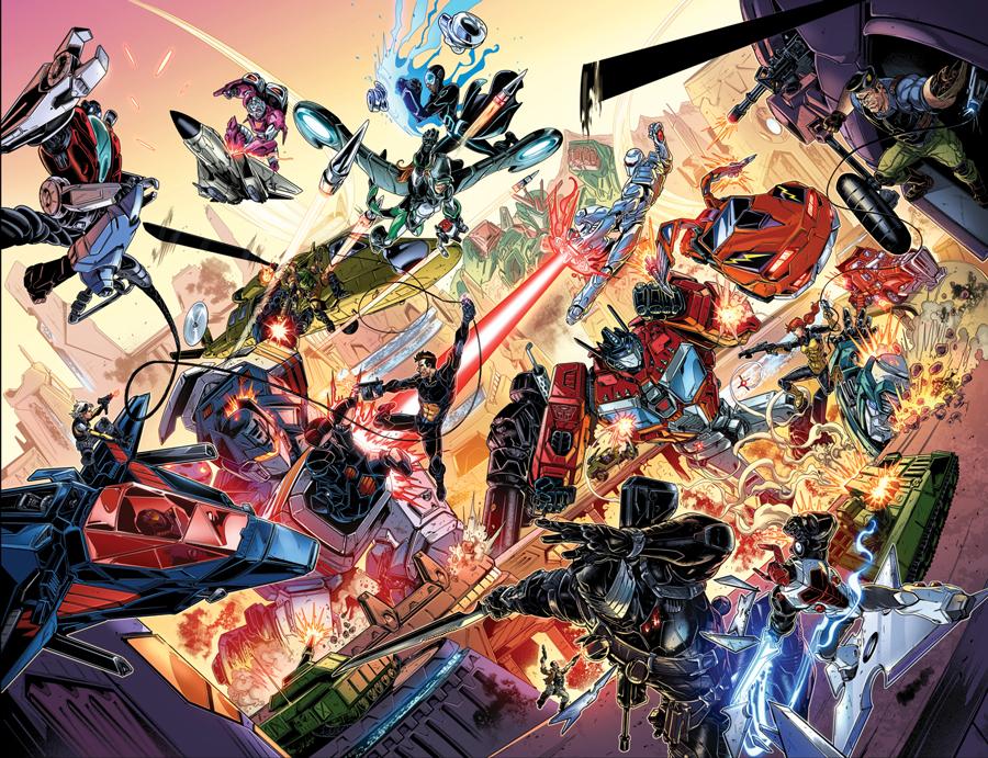 Comics/BD G.I. Joe ― Français: Vestron - Édition Héritage ― Anglais: Marvel Comics, Devil Due, IDW Hasbro-IDW-Revolution