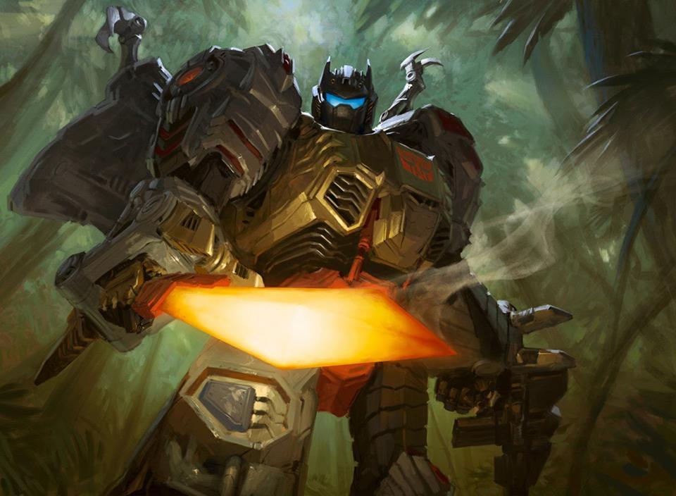 [Pro Art et Fan Art] Artistes à découvrir: Séries Animé Transformers, Films Transformers et non TF - Page 14 Tyler-Jacobson-Grimlock-Art-02