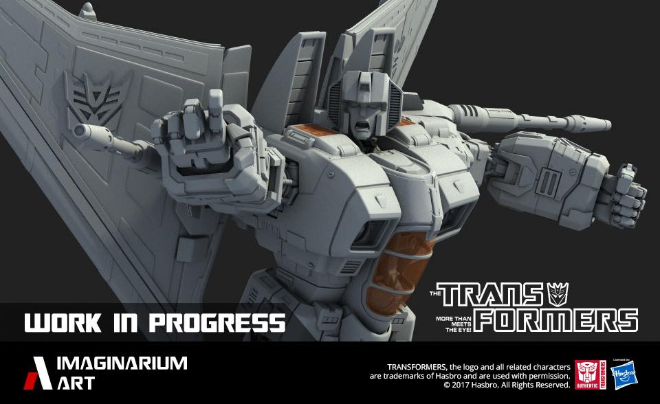 Statues Transformers G1 ― Par Pop Culture Shock, Imaginarium Art, XM Studios, etc - Page 2 Imaginariumm-Art-Skywarp-Statue