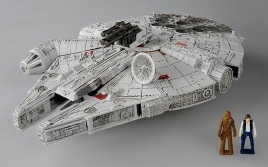 Jouets Transformers Crossover (Croisement) transformable ― Marvel, Star Wars, Street Fighter, Ghostbusters, etc - Page 6 Star-Wars-Powered-By-Transformers-Millennium-Falcon-Color-Images-03