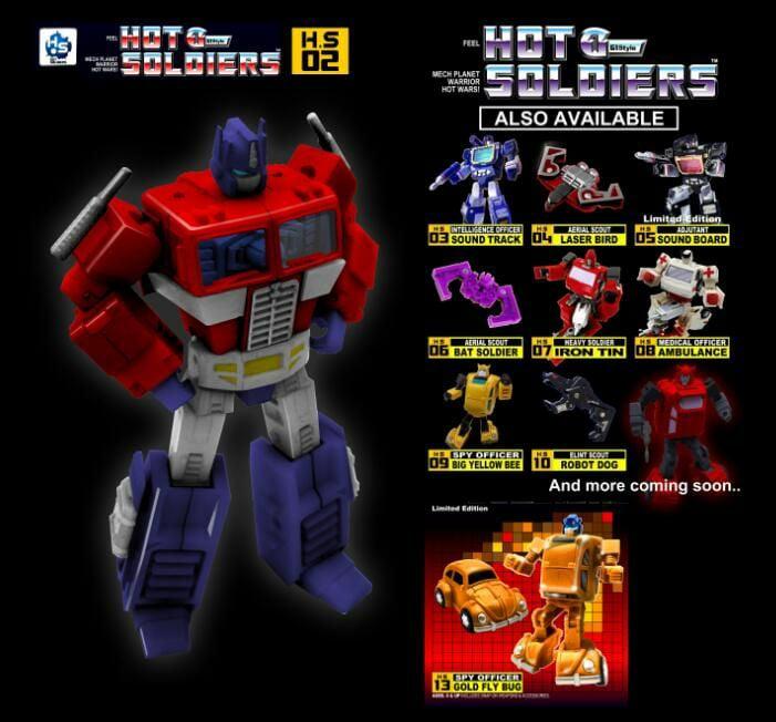 """[Mech Planet] Produit Tiers - Jouets TF """"Hot Soldiers Legends"""" - basé sur G1 et autres Hot-Soldiers-H.S-02-G1-Optimus-Prime"""