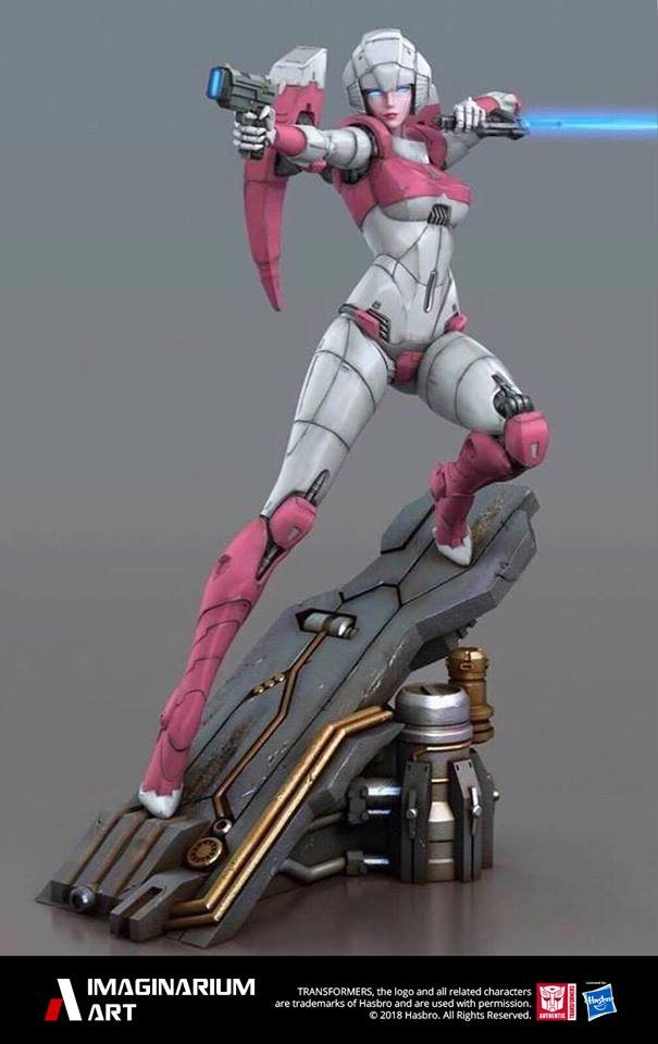 Statues Transformers G1 ― Par Pop Culture Shock, Imaginarium Art, XM Studios, etc - Page 4 Imaginarium-Art-Arcee