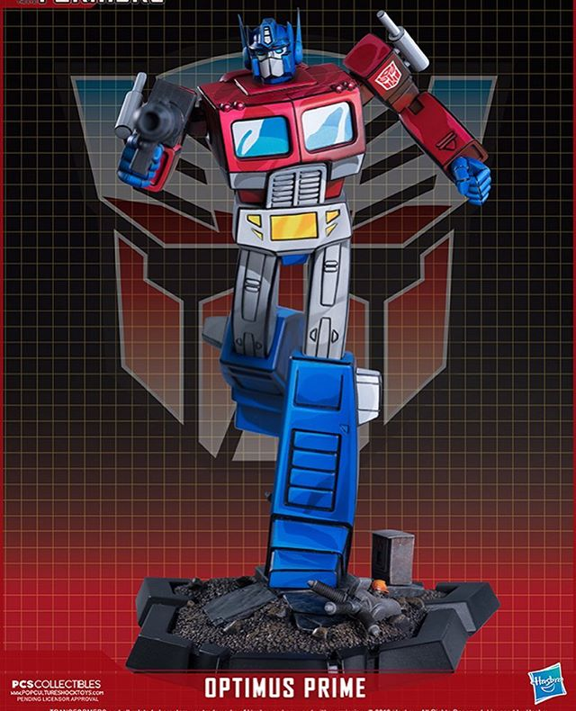 Statues Transformers G1 ― Par Pop Culture Shock, Imaginarium Art, XM Studios, etc - Page 4 Pop-Culture-Shock-Optimus-Prime-Statue