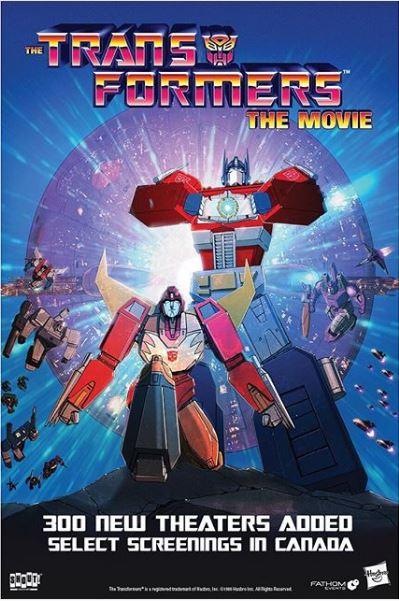 """Anniversaire aujourd'hui ― 8 août: sortie au cinéma de """"Les Transformers Le Film"""" (1986) ― 17 sept: 1ere diffusion TV au USA de """"Les Transformers"""" (1984) - Page 2 Transformers-the-Movie-300-new-theaters"""