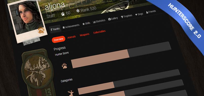 Introducción del nuevo sistema de Hunter Score Splashcreen_hunterscore2