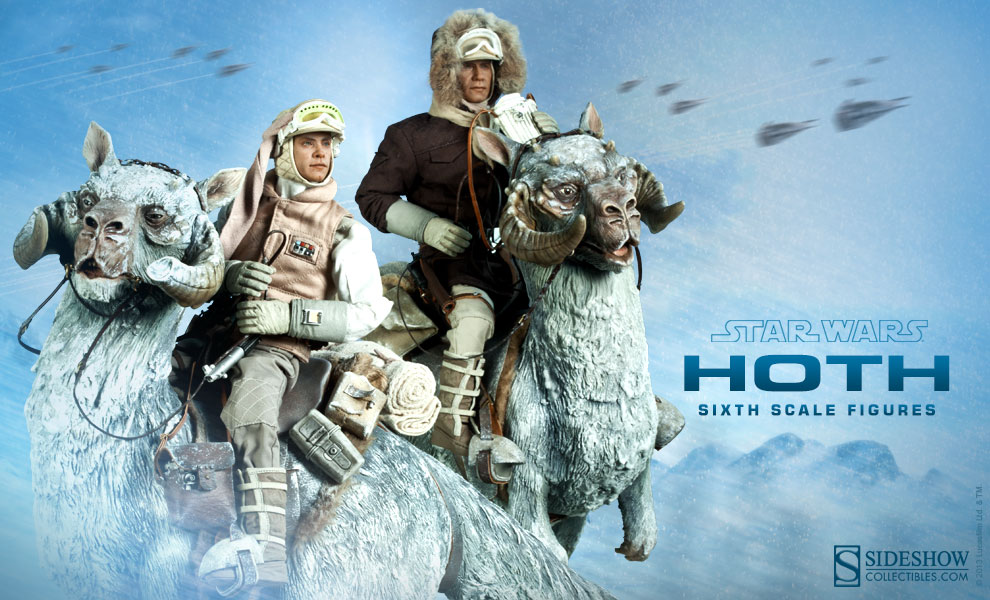 [Sideshow] Star Wars: Commander Luke Skywalker - Hoth Sixth Scale Figures Sideshow-Hoth-Figures-Preview