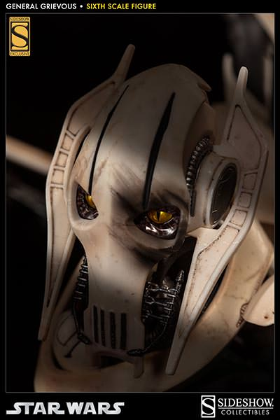 [SideShow] Star Wars: General Grievous 1/6th Scale Figure - Página 2 Sixth-Scale-General-Grievous-Figure-002