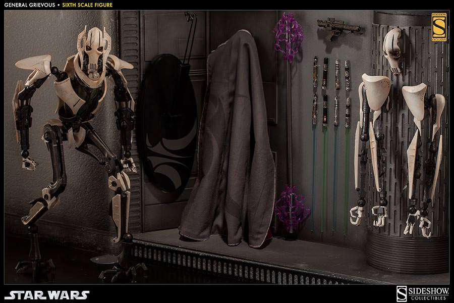 [SideShow] Star Wars: General Grievous 1/6th Scale Figure - Página 2 Sixth-Scale-General-Grievous-Figure-003