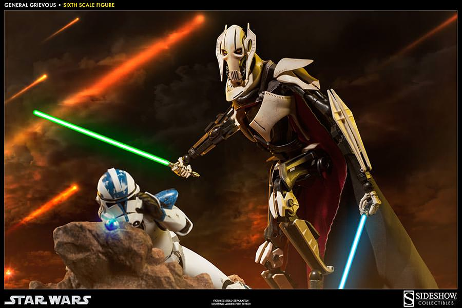 [SideShow] Star Wars: General Grievous 1/6th Scale Figure - Página 2 Sixth-Scale-General-Grievous-Figure-006