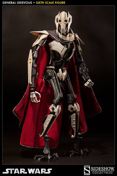 [SideShow] Star Wars: General Grievous 1/6th Scale Figure - Página 2 Sixth-Scale-General-Grievous-Figure-009