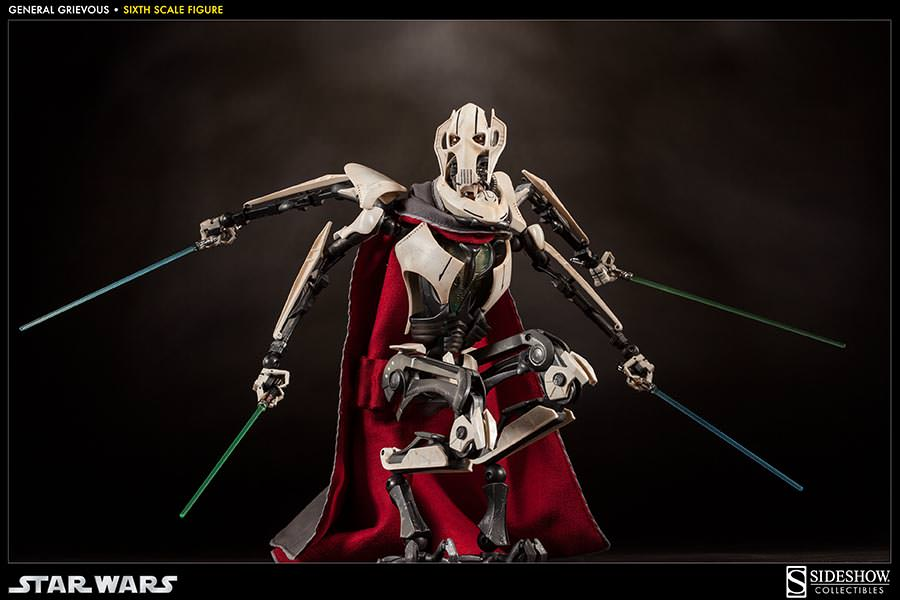 [SideShow] Star Wars: General Grievous 1/6th Scale Figure - Página 2 Sixth-Scale-General-Grievous-Figure-011