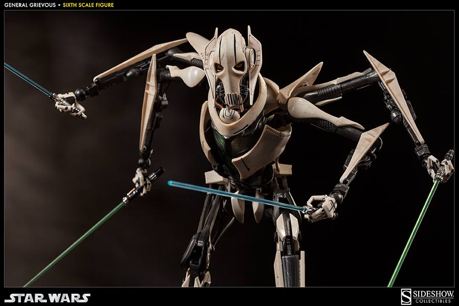 [SideShow] Star Wars: General Grievous 1/6th Scale Figure - Página 2 Sixth-Scale-General-Grievous-Figure-013