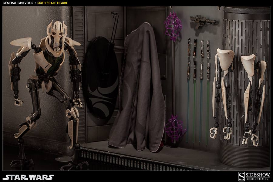 [SideShow] Star Wars: General Grievous 1/6th Scale Figure - Página 2 Sixth-Scale-General-Grievous-Figure-015