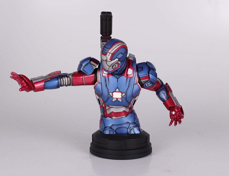 [Gentle Giant] Iron Man 3: Iron Patriot Mini Bust (Amazon Exclusive) Amazon-Exclusive-Iron-Patriot-Mini-Bust-2
