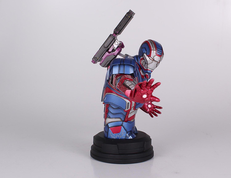[Gentle Giant] Iron Man 3: Iron Patriot Mini Bust (Amazon Exclusive) Amazon-Exclusive-Iron-Patriot-Mini-Bust-3