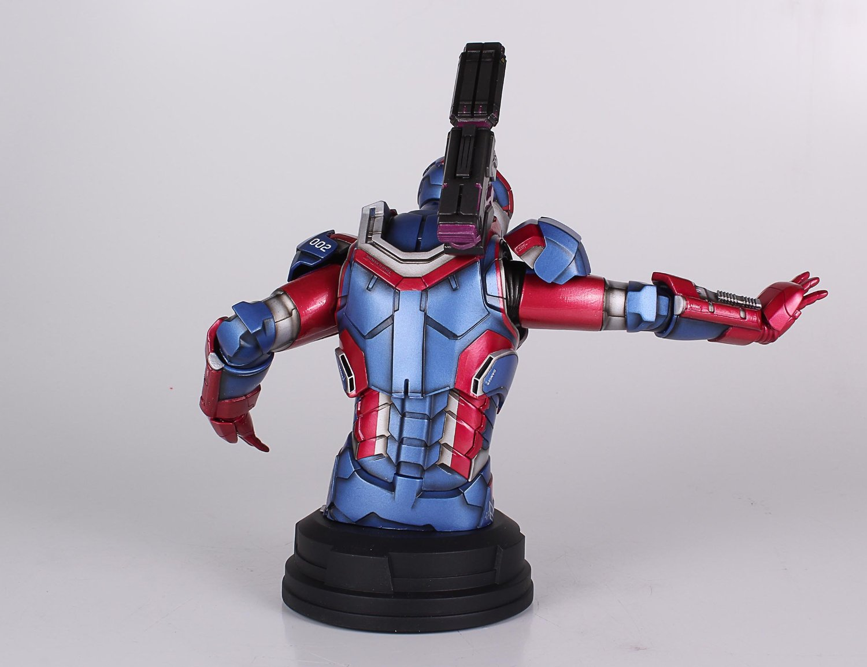 [Gentle Giant] Iron Man 3: Iron Patriot Mini Bust (Amazon Exclusive) Amazon-Exclusive-Iron-Patriot-Mini-Bust-4