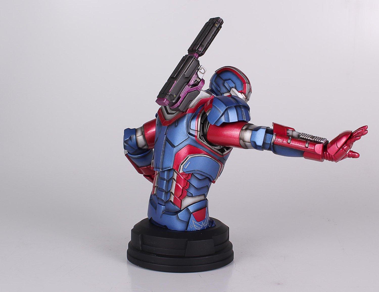 [Gentle Giant] Iron Man 3: Iron Patriot Mini Bust (Amazon Exclusive) Amazon-Exclusive-Iron-Patriot-Mini-Bust-5