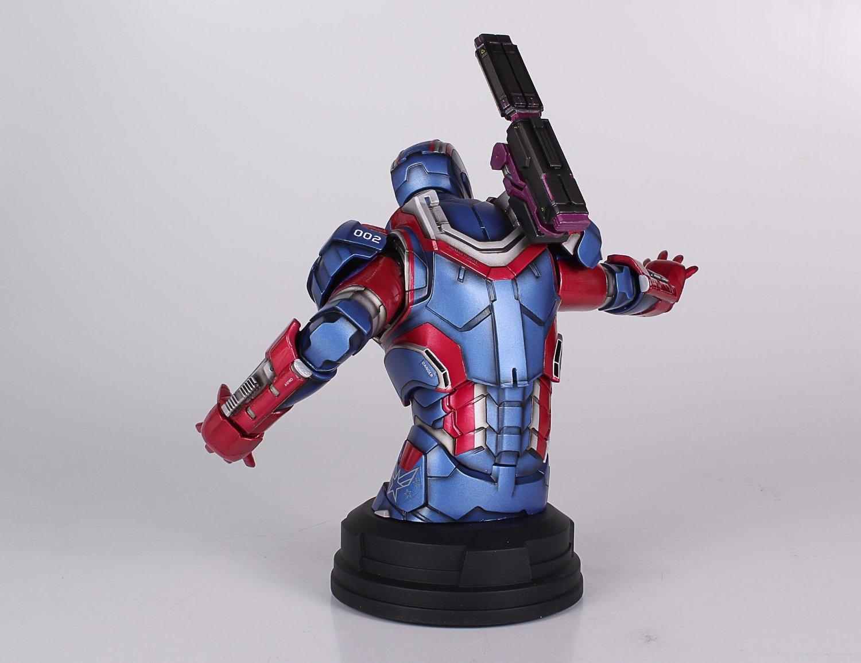 [Gentle Giant] Iron Man 3: Iron Patriot Mini Bust (Amazon Exclusive) Amazon-Exclusive-Iron-Patriot-Mini-Bust-6