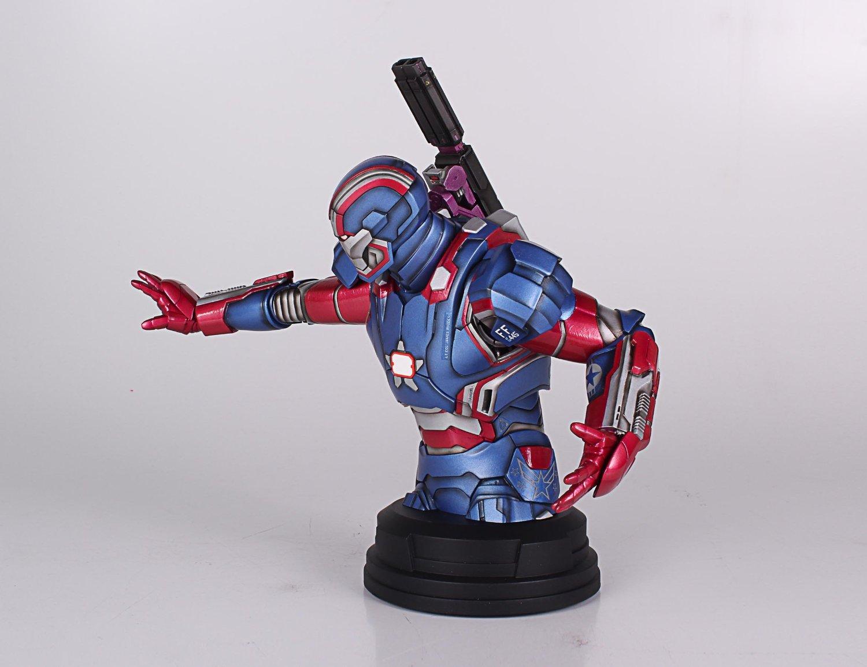 [Gentle Giant] Iron Man 3: Iron Patriot Mini Bust (Amazon Exclusive) Amazon-Exclusive-Iron-Patriot-Mini-Bust-8