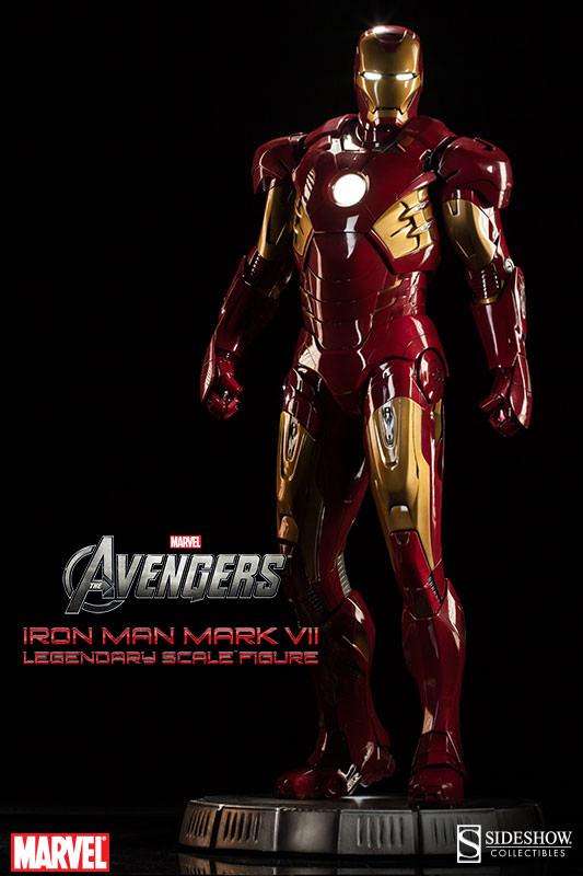 [Sideshow] Iron Man Mark VII - Legendary Scale figure - LANÇADO!!! - Página 2 Iron-Man-Mark-VII-Legendary-Scale-001