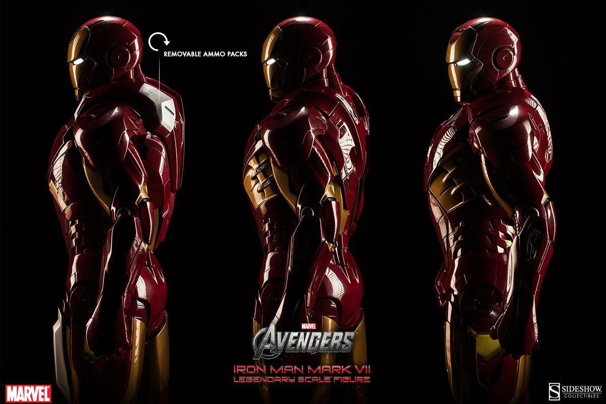 [Sideshow] Iron Man Mark VII - Legendary Scale figure - LANÇADO!!! - Página 2 Iron-Man-Mark-VII-Legendary-Scale-003