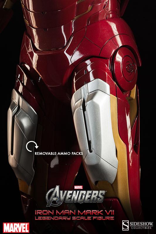 [Sideshow] Iron Man Mark VII - Legendary Scale figure - LANÇADO!!! - Página 2 Iron-Man-Mark-VII-Legendary-Scale-004