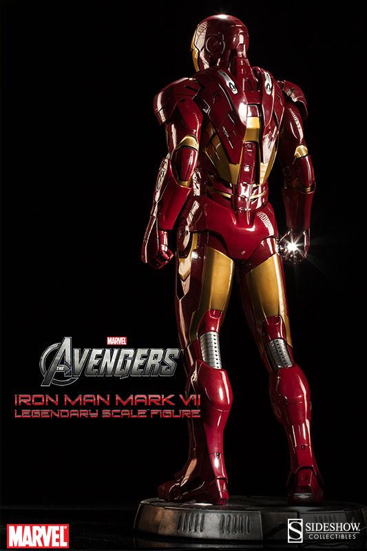 [Sideshow] Iron Man Mark VII - Legendary Scale figure - LANÇADO!!! - Página 2 Iron-Man-Mark-VII-Legendary-Scale-005